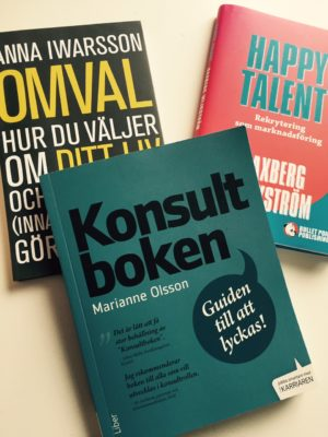 Boktips: omval, konsultboken & happy talent