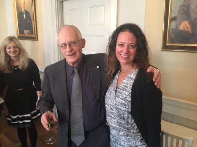 Oliver Hart & Marianne Olsson